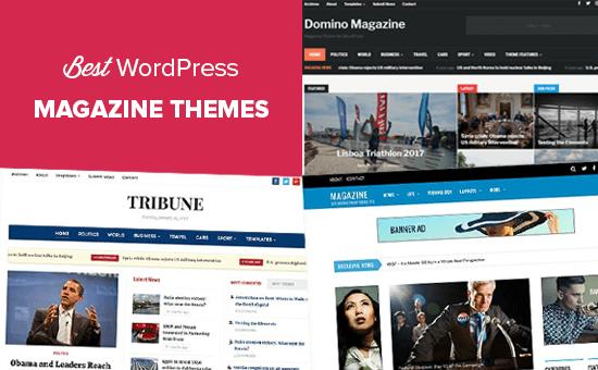 Los mejores temas de la revista WordPress