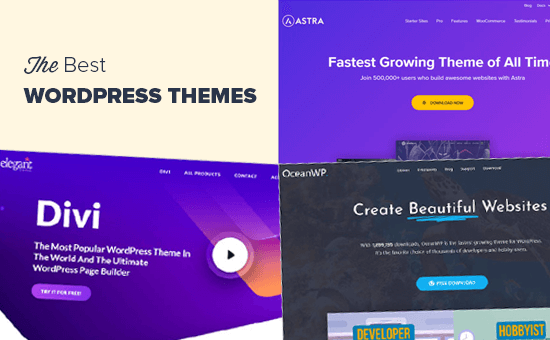 Los mejores temas de WordPress