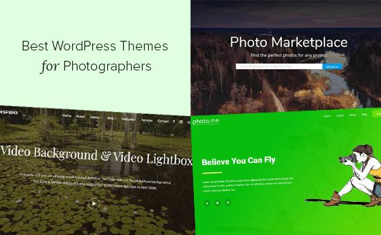 Valokuvaajien 25 parasta WordPress-teemaa (2020)