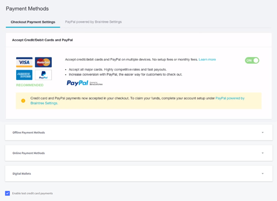 Pagos BigCommerce