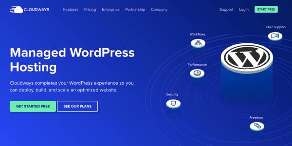 wordpress hosting bulud yollarında idarə olunur