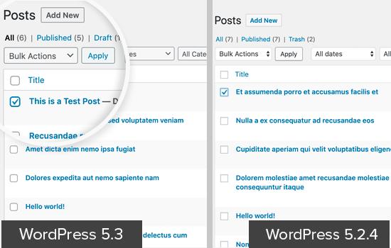 WordPress-də sahələr yaradın 5.3 Ui