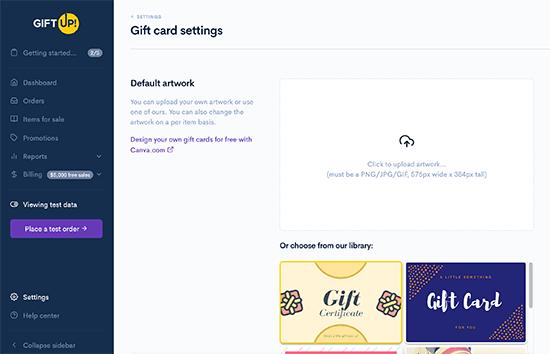 Diseñador de regalos