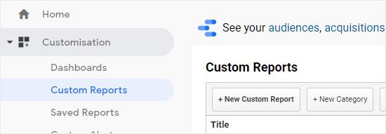Fərdi fərdiləşdirmə: Google Analytic-də fərdi hesabatlar