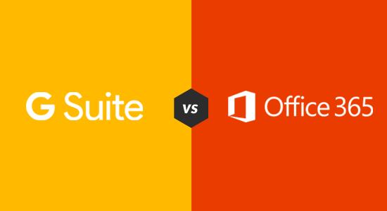 G Suite -sovelluksen ja Office 365: n vertailu: mikä on parempi?