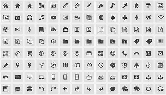 Icon font önizləmə