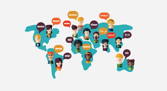 Idiomas y localización