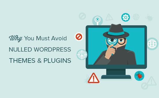 Por qué debes evitar los temas y complementos de WordPress anulados