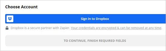 Dropbox'ta oturum açın