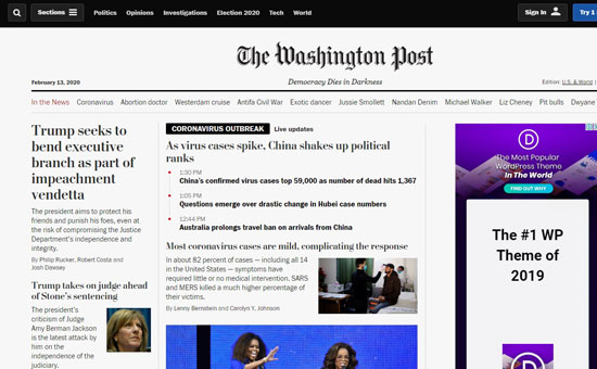 Y Washington Post