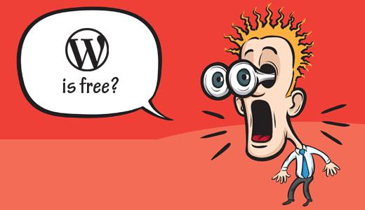 WordPress on ilmainen ja avoimen lähdekoodin