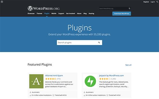 WordPress-Plugin-Verzeichnis