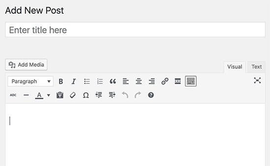 WordPress-Post-Editor