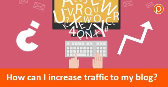 ¿Cómo puedo aumentar el tráfico a mi blog? cubrir