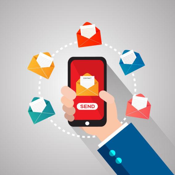 marketing por correo electrónico móvil