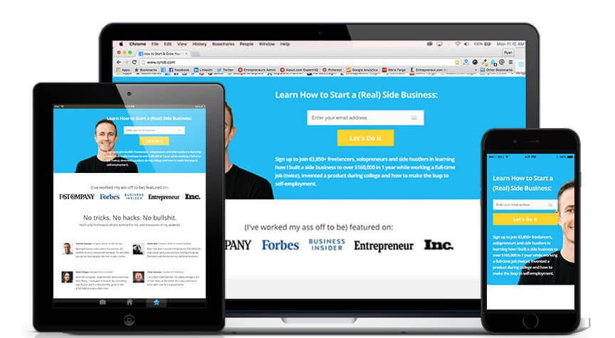 Cómo escribir una publicación de blog con buen diseño ryrob OptimizePress