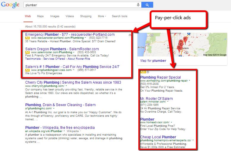 publicidad de búsqueda paga