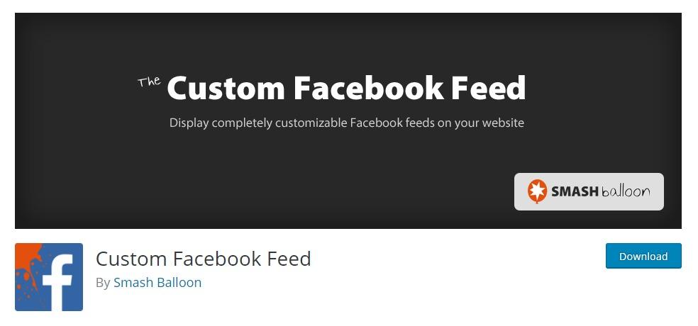 """Custom-facebook-feed-wordpress-facebook-plugins """"width ="""" 984 """"height ="""" 460 """"srcset ="""" https://themegrill.com/blog/wp-content/uploads/2018/01/Custom-facebook-feed -wordpress-facebook-plugins-1.jpg 984w, https://themegrill.com/blog/wp-content/uploads/2018/01/Custom-facebook-feed-wordpress-facebook-plugins-1-300x140.jpg 300w , https://themegrill.com/blog/wp-content/uploads/2018/01/Custom-facebook-feed-wordpress-facebook-plugins-1-768x359.jpg 768w """"tamaños ="""" (ancho máximo: 984px) 100vw, 984px """"></h3> <p>Completamente personalizable, receptivo y amigable con SEO, <strong>Personalizado Facebook Alimentar</strong> es un complemento perfecto para ayudarte a integrar Facebook en tu sitio de WordPress. El complemento súper fácil de usar que te trajo <strong>Smash Balloons</strong>, es en sí mismo una excelente manera de combinar la apariencia del tema de su preferencia.</p><div class='code-block code-block-3' style='margin: 8px auto; text-align: center; display: block; clear: both;'> <div data-ad="""