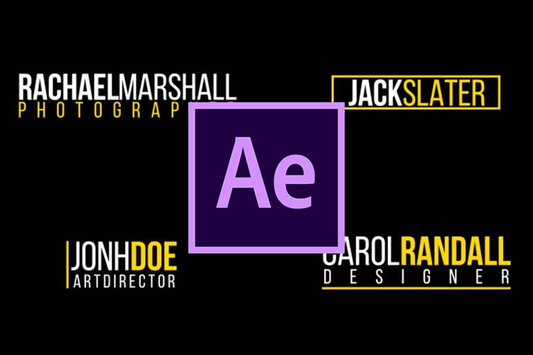 Las 10 mejores plantillas inferiores para Adobe After Effects
