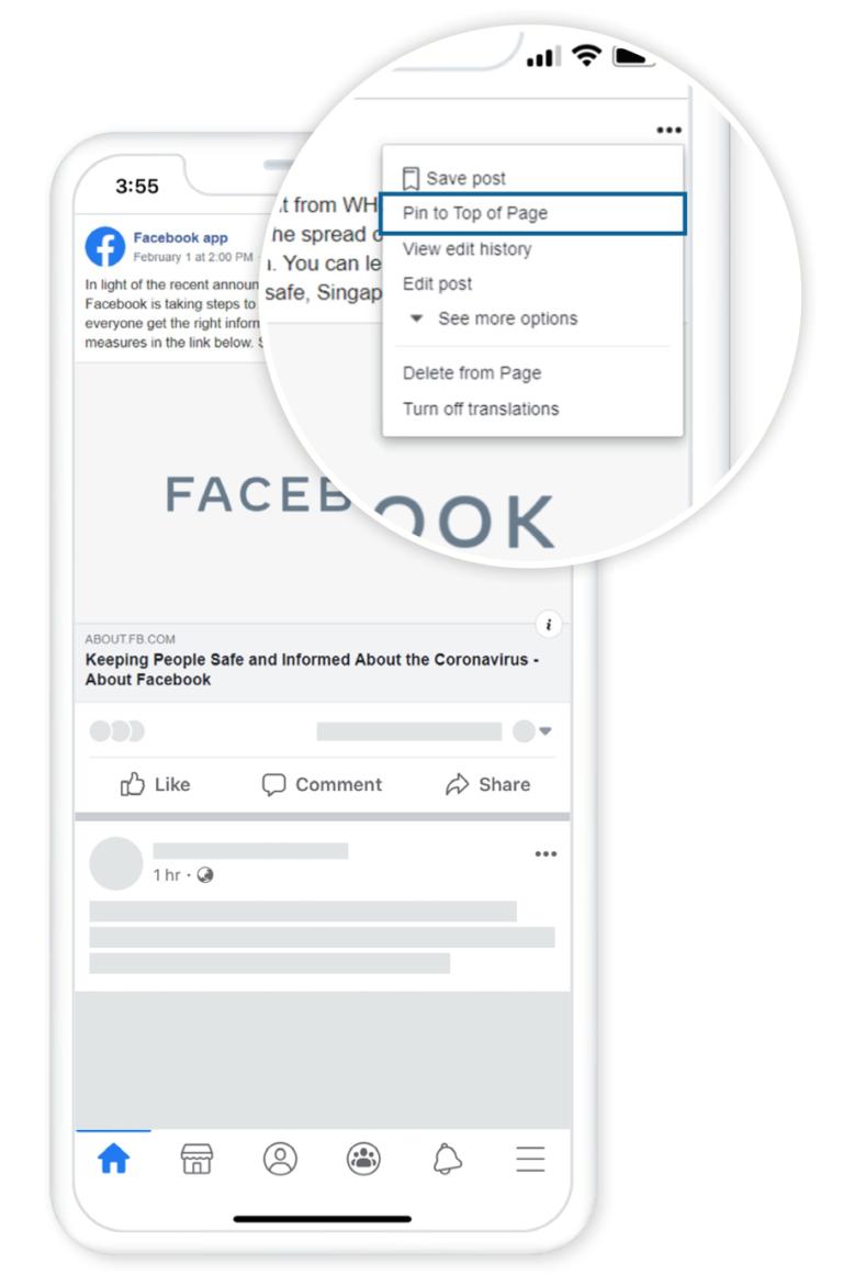 Facebook                                Aiuta le aziende a comprendere l'impatto di COVID19 sulla risposta