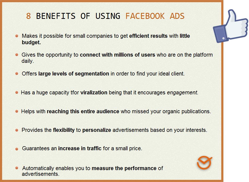 Beneficios de usar Facebook Campañas publicitarias