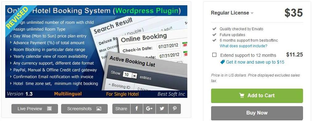 sistema de reserva de hotel en línea