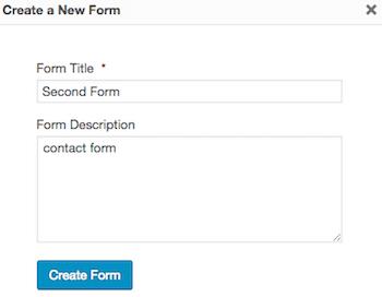 Formas de gravedad formulario en blanco