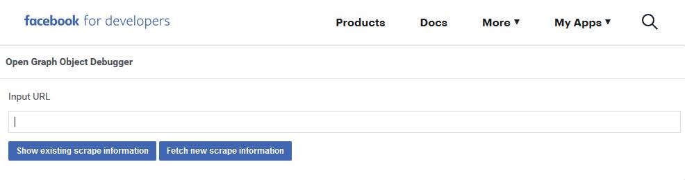 Facebook  Herramienta Open Object Object Debugger