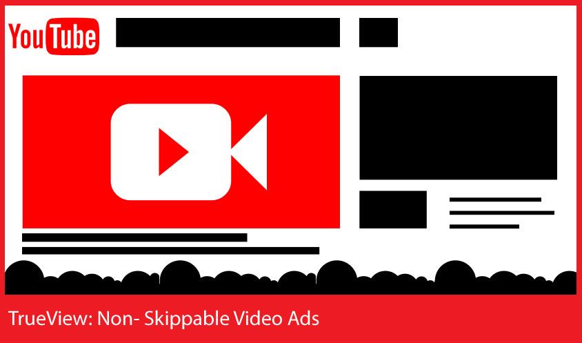 TrueView - No - Anuncios de video que se pueden omitir