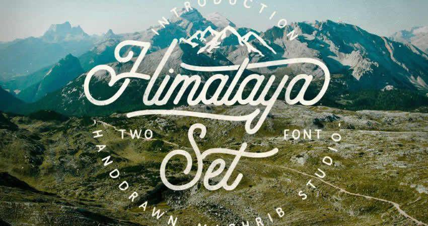 Stellen Sie den Typ Himalaya ein
