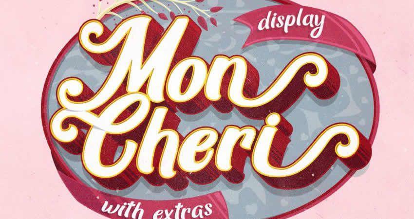 Mon Cheri Typografie + Extras