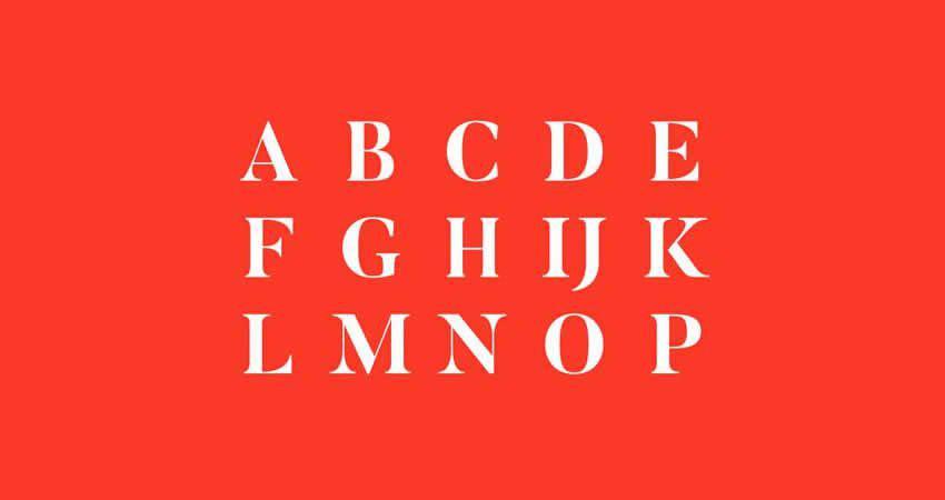 Butler Regular Stencil serifenfreie Schriftfamilie