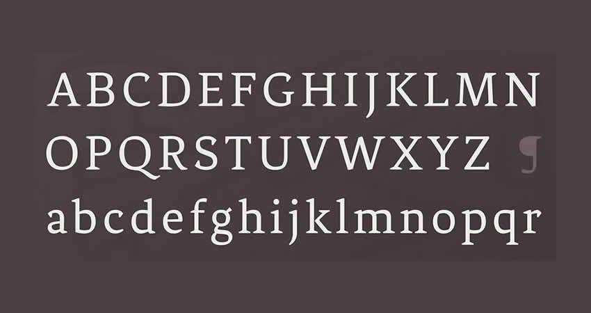 Phoenix Regular serifenfreie Schriftfamilie