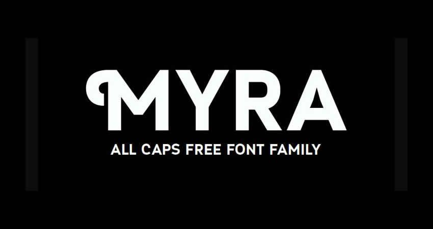 Myra ohne Serife