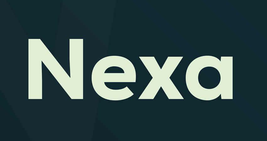 Nexa sans serif free Schriftart Schriftfamilie