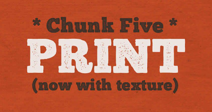 Chunk Ultra-Bold plattenfreie Schrift