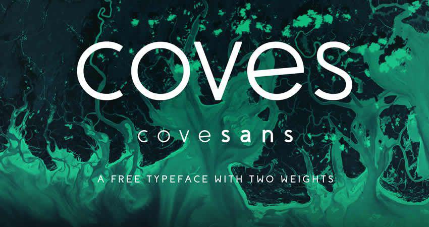 Caves sans serif free Schriftart Schriftfamilie