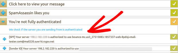 Adresse IP de vérification du testeur de messagerie - test de délivrabilité des e-mails