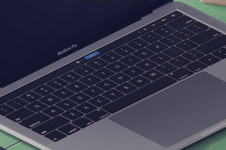25 mẫu Photoshop PSD miễn phí cho MacBook Mockup 1