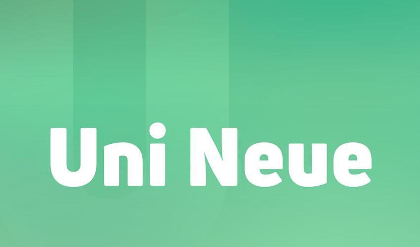 Uni Neue minimalist mətbəə pulsuz mətbəə