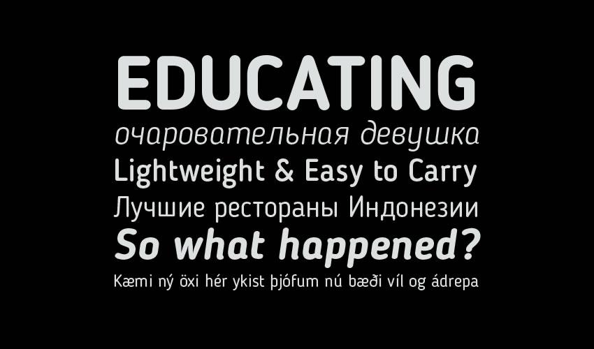 Blogger Sans Pulsuz Minimal Şrift Dizayn Tipoqrafiyası