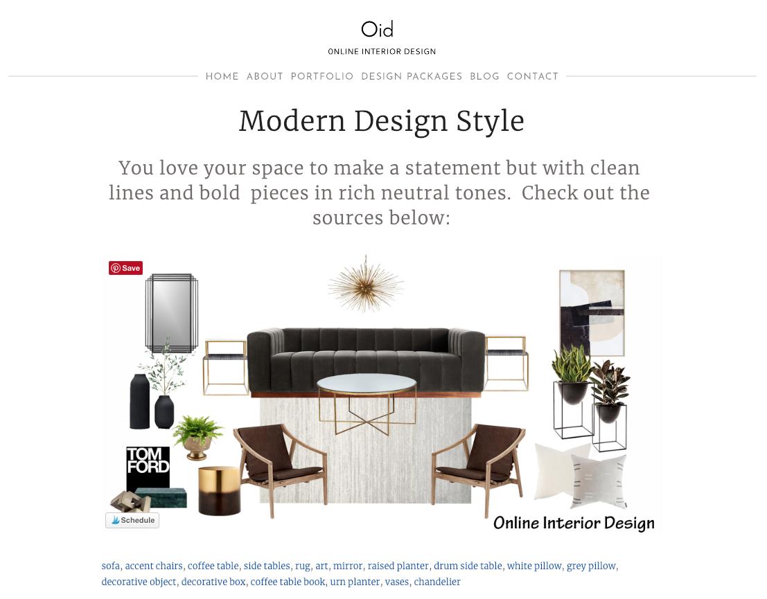 resultados del cuestionario de diseño de interiores con diseño y explicación modernos de sala de estar