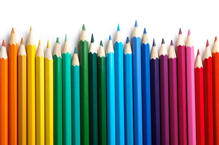 lista de correo electrónico: use variaciones de color