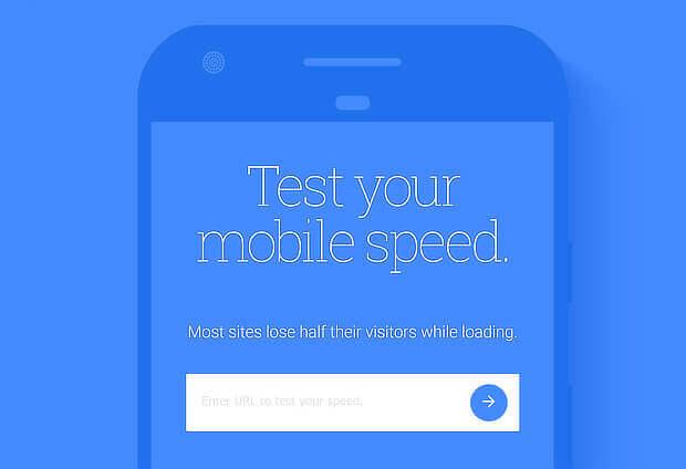 prueba de velocidad móvil con google