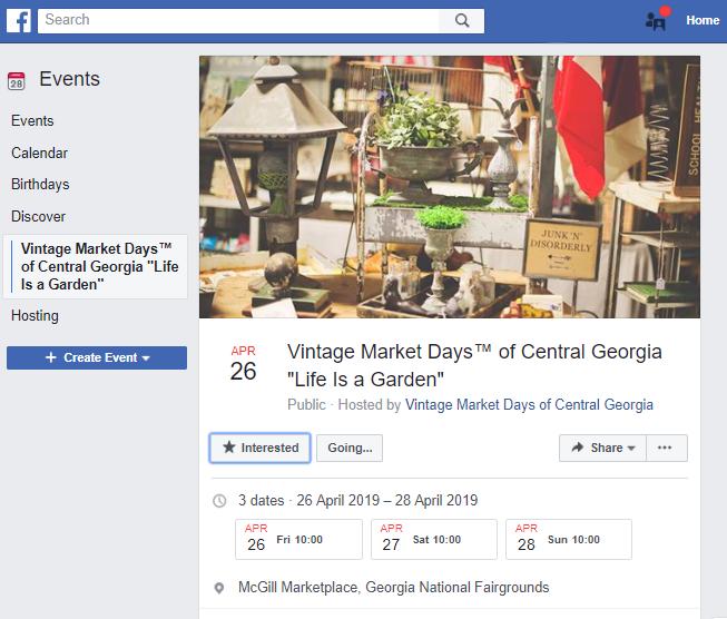 Facebook  evento
