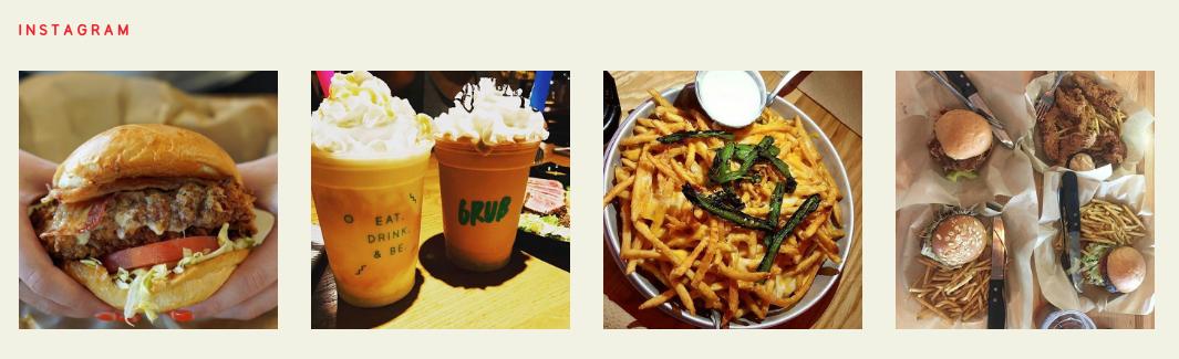 grub burger bar instagram