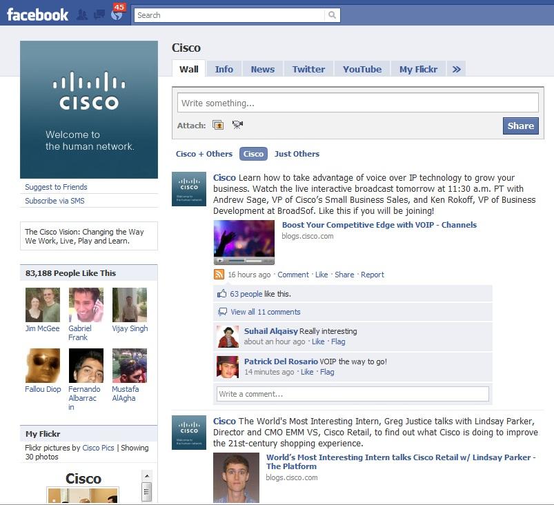 Sosial media Cisco-ya 100.000 dollar qazandırmağına necə kömək etdi ... 2