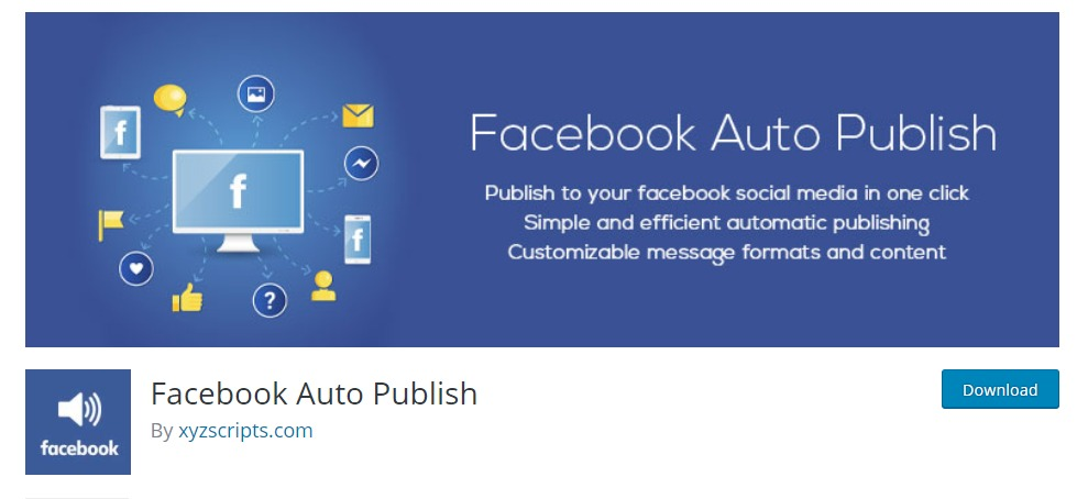 """facebook-ayto-publishing-wordpress-facebook-plugins """"width ="""" 989 """"height ="""" 454 """"srcset ="""" https://themegrill.com/blog/wp-content/uploads/2018/01/facebook-ayto-publish -wordpress-facebook-plugins-1.jpg 989w, https://themegrill.com/blog/wp-content/uploads/2018/01/facebook-ayto-publish-wordpress-facebook-plugins-1-300x138.jpg 300w , https://themegrill.com/blog/wp-content/uploads/2018/01/facebook-ayto-publish-wordpress-facebook-plugins-1-768x353.jpg 768w """"tamaños ="""" (ancho máximo: 989px) 100vw, 989px """"></p> <p>Quiere compartir inmediatamente todas sus publicaciones de su blog a su Facebook para que lo vean tus usuarios? Bien,<strong> Facebook  Publicación automática</strong> te da la libertad de hacerlo. Publique y comparta su publicación de blog al instante con algunas configuraciones rápidas.</p> <p>Además, puede elegir publicarlos todos y clasificarlos según sus preferencias. Además de eso, ahorre tiempo y filtre los contenidos que desea que se publiquen de lo que no desea. Obtenga nada más que el mejor servicio con este increíble WordPress Facebook Plugin o widget, Facebook Publicación automática</p> <h4>Características clave</h4> <ul> <li>Publicar publicaciones en Facebook con imágenes</li> <li>Adjunte o comparta un enlace en Facebook.</li> <li>Formatos de mensajes personalizables para FB.</li> <li>Filtre los elementos que se compartirán según las categorías y los tipos de publicaciones.</li> <li>Habilitar o deshabilitar la publicación de páginas de WordPress.</li> <li>Programe y edite las fechas de publicación.</li> <li>Título de la publicación, descripción, extracto, enlace permanente e identificación de la publicación.</li> </ul> <p><strong>Precio: </strong></p> <p><strong> </strong></p> <h2>¡Envolviendolo!</h2> <p>En definitiva con estos WordPress Facebook plugins y widgets, no solo puede incluir controles deslizantes y publicaciones y páginas de su Facebook, pero también hemos enumerado mensajeros para ayudarlo a mantenerse conectado. Esperamos que con este """