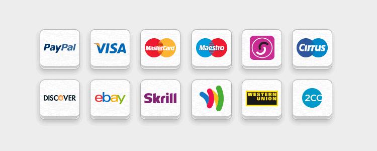 Icône de paiement en ligne gratuit PSD PNG