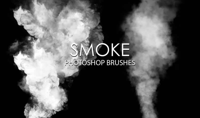 Rauch Adobe Photoshop PS Brush Brush Brush Brush Pack Pack gratuit
